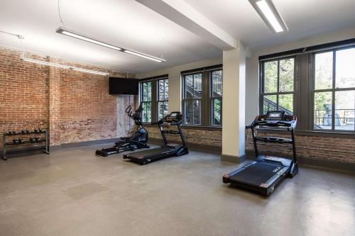 The fitness center and/or fitness facilities at The Waters Hot Springs, Tapestry Collection by Hilton