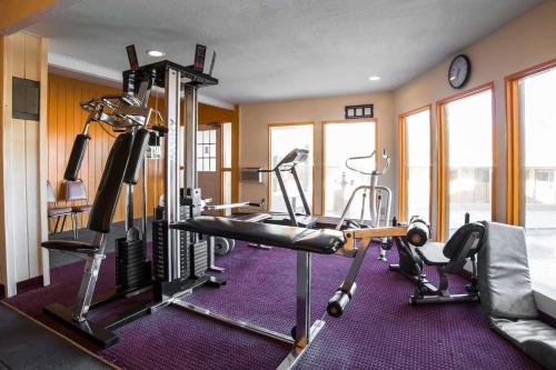 Fitness centrum a/nebo fitness zařízení v ubytování Rodeway Inn Kingman Route 66