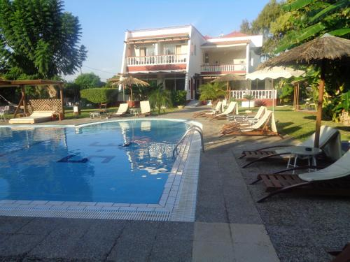 The swimming pool at or close to Naturist Angel Nudist Club Hotel - Couples Only