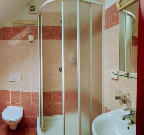 Ένα μπάνιο στο Residence Tabor