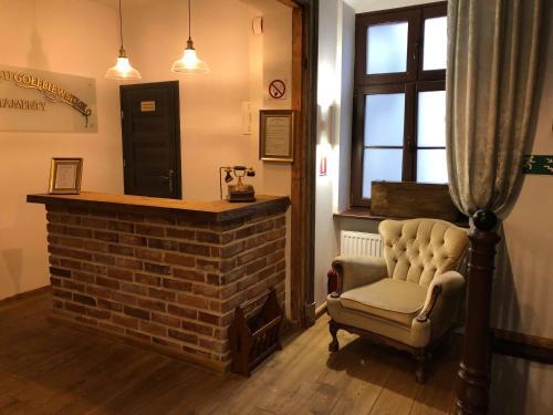 Lobby/Rezeption in der Unterkunft Apartamenty Mieszczańskie u Gołębiewskich