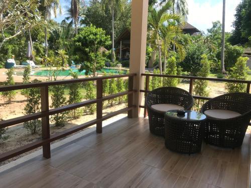 Балкон или терраса в Phalarn Inn Resort