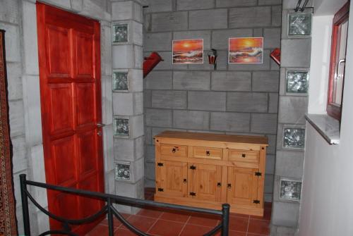 A bathroom at Colonia Natura Apartmanok