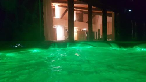 The swimming pool at or near Old Stone Villa Óbarok