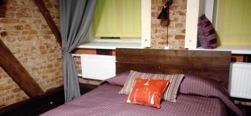 Кровать или кровати в номере Apart Hotel Arka