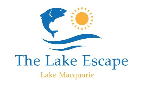 The logo or sign for the vacation home