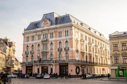 Будівля готелю