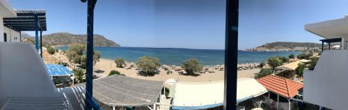 Общ изглед към море или изглед към море от апартхотела