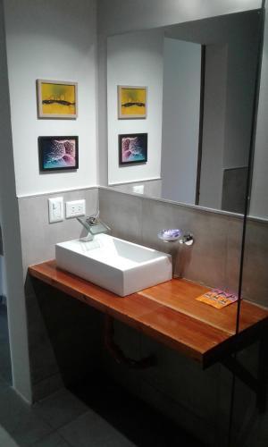 Un baño de Hotel El Recreo