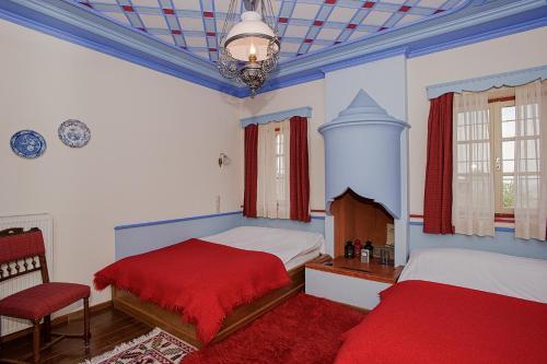 Ένα ή περισσότερα κρεβάτια σε δωμάτιο στο Θουκυδίδης