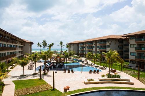 The swimming pool at or close to Samoa Beach Resort