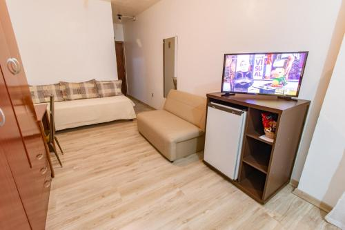 A television and/or entertainment center at Hotel Telesca