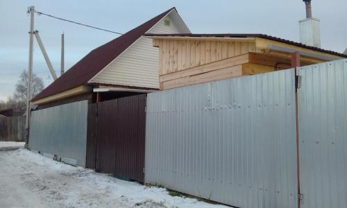 House Nakhodka during the winter
