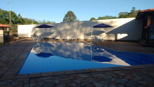The swimming pool at or near Senior Parque Hotel