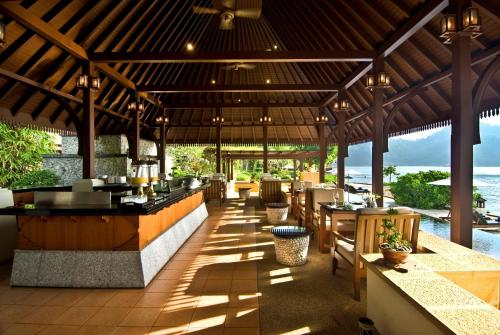 A restaurant or other place to eat at Pangkor Laut Resort