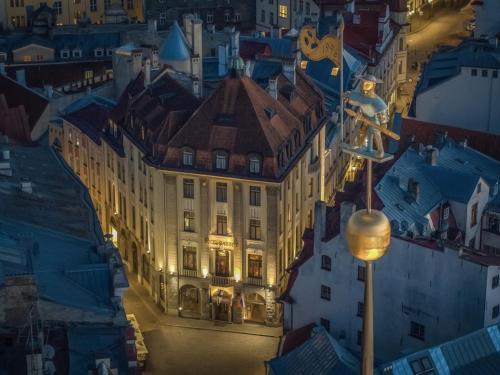 Majoituspaikan Hestia Hotel Barons Old Town kuva ylhäältä päin
