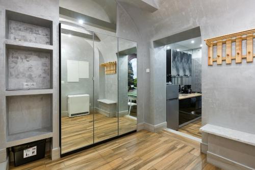 Łazienka w obiekcie Mikolajska Residence
