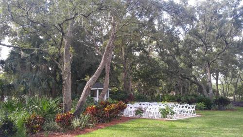 Um jardim em Champions World Resort