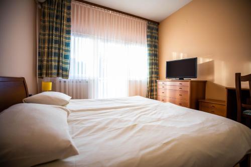 Krevet ili kreveti u jedinici u objektu Bed and Breakfast Restaurant DP