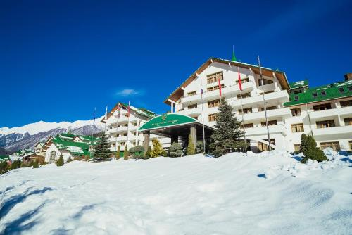 Grand Hotel Polyana during the winter