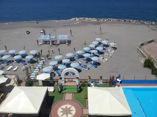 A view of the pool at Sait Hotel & BB or nearby