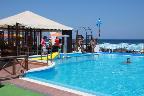 The swimming pool at or near Sait Hotel & BB