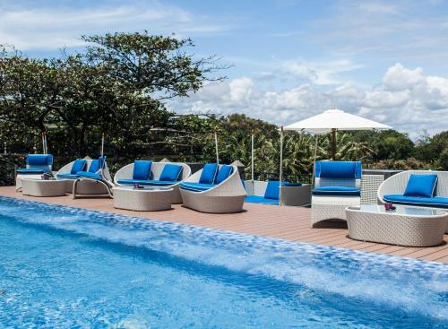 The swimming pool at or near Sol House Bali Legian by Melia Hotels International