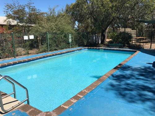 The swimming pool at or near Stawell Park Caravan Park