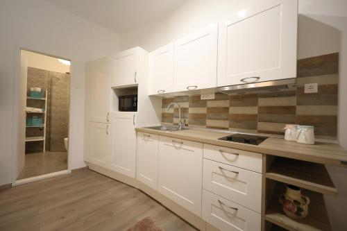A kitchen or kitchenette at Studio Apartment Andi