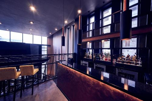 A restaurant or other place to eat at Malmaison Liverpool
