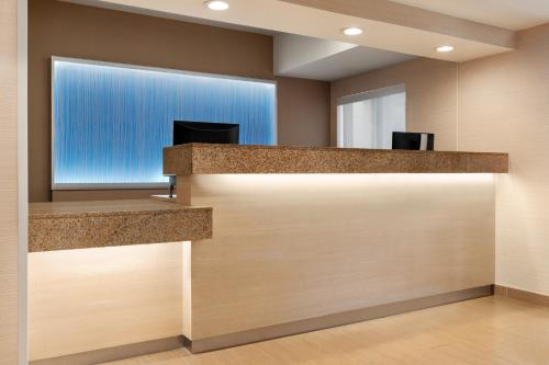The lobby or reception area at Fairfield Inn Roseville