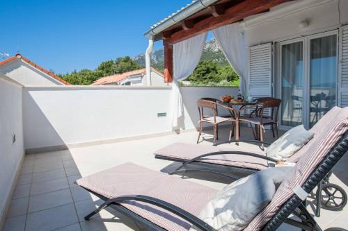 Balkón nebo terasa v ubytování Dreams of Bol Apartment