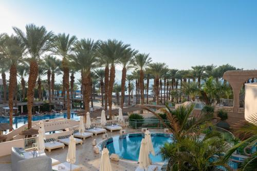 A view of the pool at Herods Vitalis Spa Hotel Eilat a Premium collection by Fattal Hotels or nearby