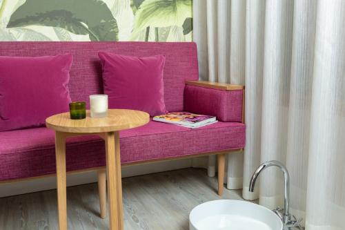 A seating area at The Charm Brighton Boutique Hotel & Spa