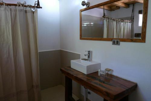 Um banheiro em Planeta Atacama Lodge
