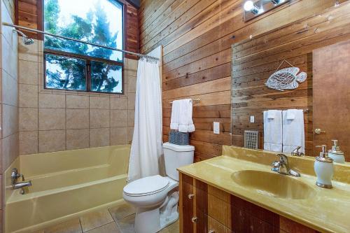 A bathroom at 21562 Heron Drive Home
