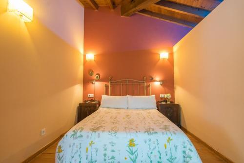 Cama o camas de una habitación en Casa Perfeuto Maria
