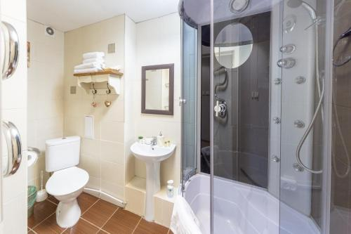 Ванная комната в Мини-Отель Albergo