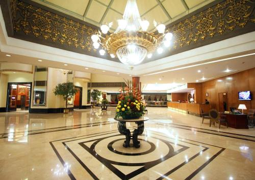 The lobby or reception area at The Sultan Hotel & Residence Jakarta