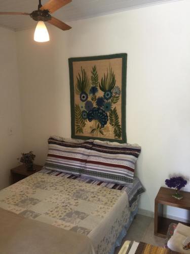 Cama o camas de una habitación en Estancia Maria