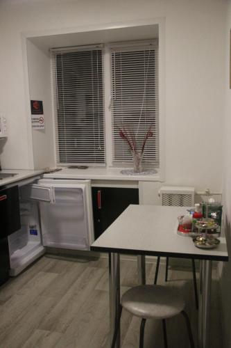 Кухня или мини-кухня в Апартаменты на Карла Маркса 216 а
