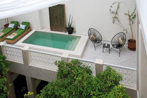 A view of the pool at Numa Marrakech or nearby