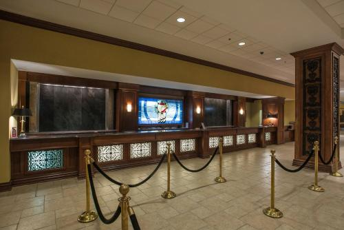 A television and/or entertainment center at Paragon Casino Resort