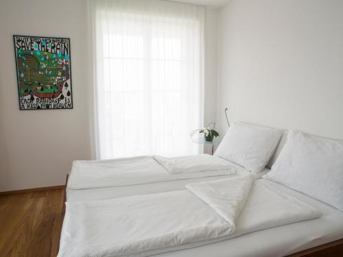 Ein Bett oder Betten in einem Zimmer der Unterkunft B&B perron13