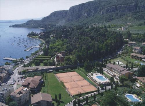 A bird's-eye view of Hotel Garden