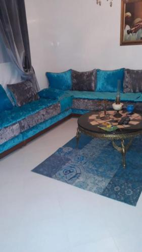 A seating area at Arif