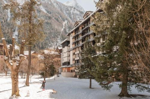 Résidence Pierre & Vacances Le Chamois Blanc during the winter