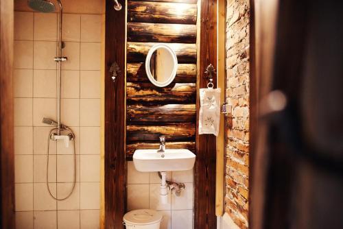 A bathroom at Ciche wody