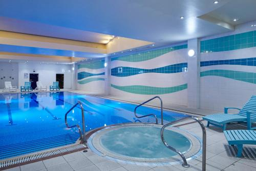 The swimming pool at or near London Heathrow Marriott Hotel