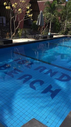 The swimming pool at or near Island Beach